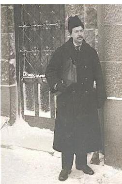 Freeland League leader Isaac Nachman Steinberg in 1918.