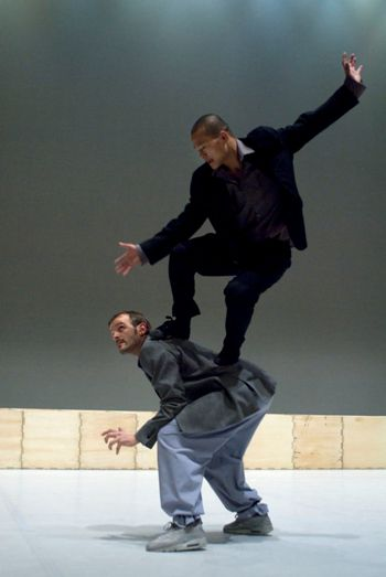 ?Sutra,? by Flemish-Moroccan choreographer Sidi Larbi Cherkaoui, is among the works being performed at Tel Aviv Dance 2010.