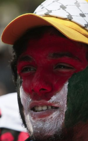 Celebrations of Nakba Day in Gaza on May 15, 2012.