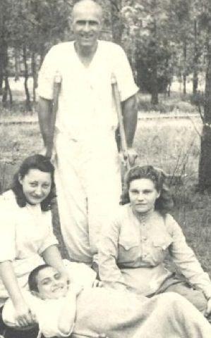 Wacek Saltzberg in 1945