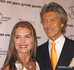 PICTURE PERFECT: Brooke Shields presented a lifetime achievement award to Tommy Tune.