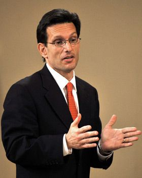 Lone Star: Eric Cantor, the only Jewish Republican in Congress, is hoping to win big.