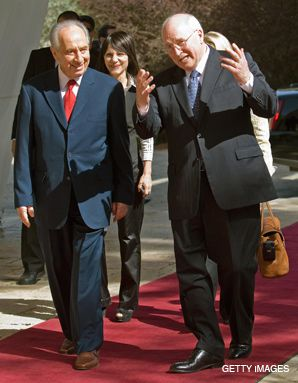 BYE, BYE: Vice President Cheney?s two-day visit to Israel was seen by some as little more than part of a farewell tour.