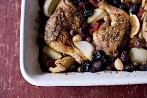 Lemon Za?atar chicken is zingy enough to wake up even this dark day.