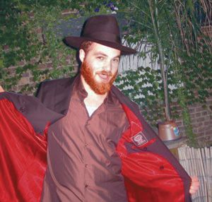 Lustrous Linings: Ultra-Orthodox Jews who insist on dark colors on the outside can let their inner selves sing out loudly.