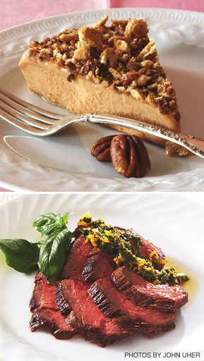 DINING IN: Susie Fishbein?s latest cookbook includes recipes for frozen pumpkin pie and citrus London broil.