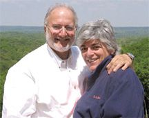Happier Times: Alan and Judy Gross before his imprisonment. Both have suffered in the past year.