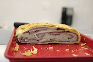Deli Roll: House of Glatt packs kosher salami and potatoes into a delicious strudel.