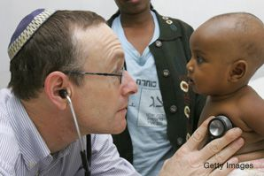 Rick Hodes, who runs the American Jewish Joint Distribution Committee's medical program in Ethiopia, was a finalist on the TV show 'CNN Heroes.'