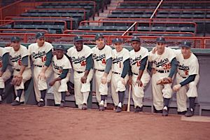 Before The Fall: The Dodgers, circa 1954.