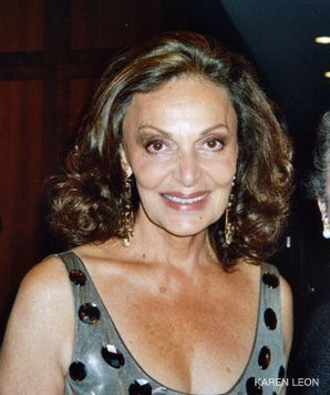 DESIGN DIVA: Diane von Furstenberg was keynote speaker