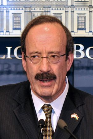 Not Welcome: Rep. Eliot Engel says those on the flotilla should be banned from enter- ing the United States.