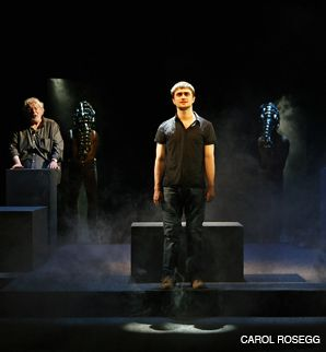 FREUDIAN SLIP: Daniel Radcliffe stars in a revival of Sir Peter Levin Shaffer?s 1973 play ?Equus.?