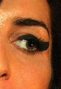 THE EYES HAVE IT: This eye may have a lush lash, but it?s not because of pharmaceuticals.
