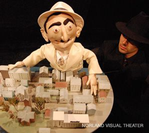 Resistance: Moritz Rabinowitz, the puppet, and the Village of Haugensund.