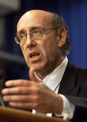 Modern Solomon: Executive com-pensation master Kenneth Feinberg will set salaries for TARP executives.