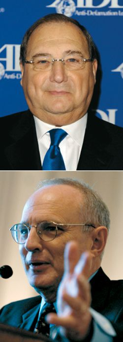 Fixers? Brokers?: Whatever their English appellations, Abraham Foxman and David Saperstein are certainly machers.