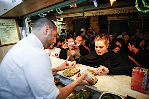 Chef Assaf Granit serves up his take on Jersualemite?s favorite foods outside of the city?s famed Machaneh Yehudah.