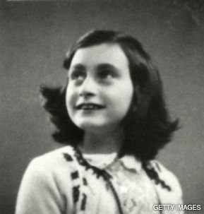 MEMORY: A movie recalls the friendship between Anne Frank (above) and Jacqueline van Maarsen.