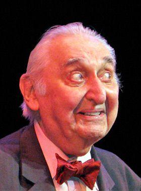 No Enemies: Fyvush Finkel, 86, performs at the YiddishTheatre-Folksbiene gala.