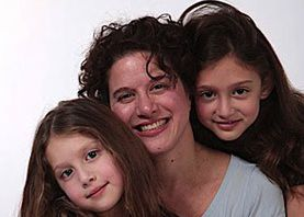 ?Just the Right Pull?: The author and her daughters