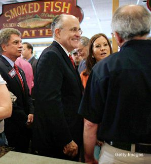 Fishing for Votes: For Republican presidential hopefuls, the Florida primary is a critical contest. Former New York mayor Rudy Giuliani has bet heavily on a strong showing in the Sunshine State.