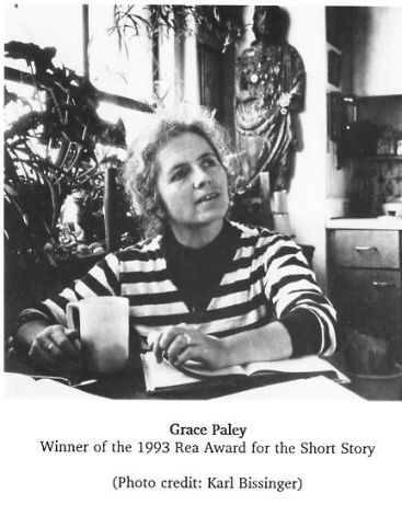American writer Grace Paley, a onetime resident of Mishkenot Sha?ananim.