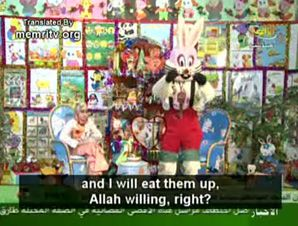 What's Up Doc?: The children's television show features a rabbit who vows to eat the Jews.