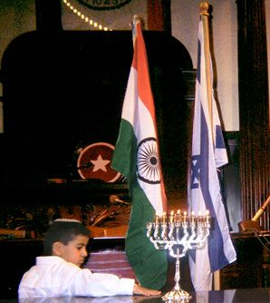 FROM BOMBAY TO JERUSALEM: The consuls general of India and Israel were scheduled to attend a Hanukkah party being thrown by the tristate area's small Indian Jewish community