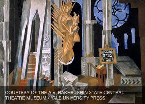 On Set: A stage design by Eugene Nivinsky for 'The Golem.'