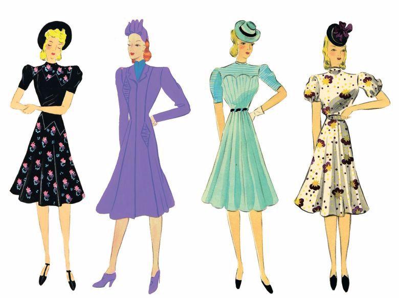 Hedy Strnad's illustrations.