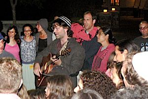 Charismatic Leader: Fans of IKAR?s musical leader Hillel Tigay have dubbed him the ?Rock Cantor.?