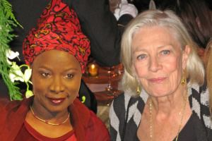 Angelique Kidjo and Vanessa Redgrave