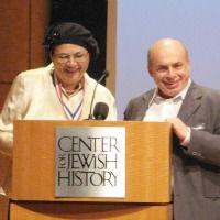 Avital Sharansky and Natan Sharansky