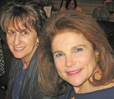 Delia Ephron and Tovah Feldshuh