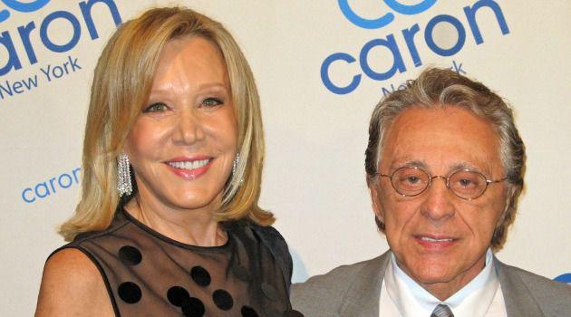 Denise LeFrak Calicchio and Frankie Valli