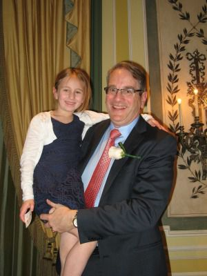 Dr. Henry Brem and his granddaughter Eliana