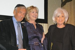 Elie Wiesel, Hillary Clinton and Marion Wiesel