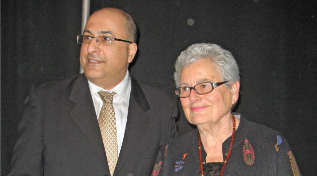Ido Aharoni and Pat Koch Thaler