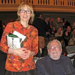 Laura Leon and Peter Schickele