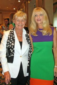Veronica Kelly and Margo Catsimatidis