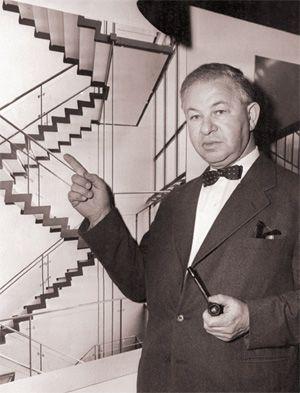 Distinctive: Arne Jacobsen in 1959.