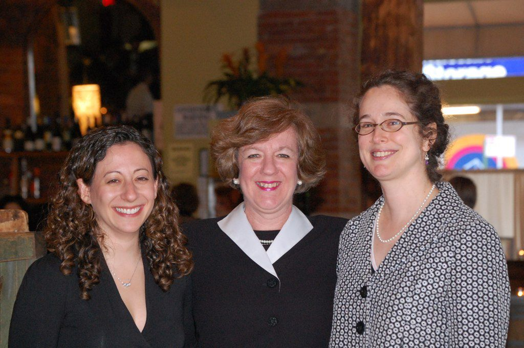 From left, Women of Valor honorees Kolin, Appleman and Springer.