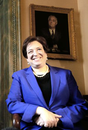 Madame Justice?: Elena Kagan tours Capitol Hill, a world away from the 1970s Upper West Side.