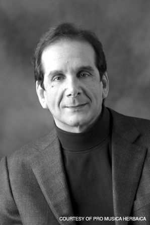 Krauthammer: The political columnist is leading a new music project