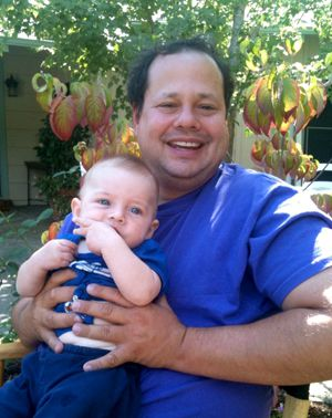 Now a Family Man: Gary Kremen with his son, Isaac.