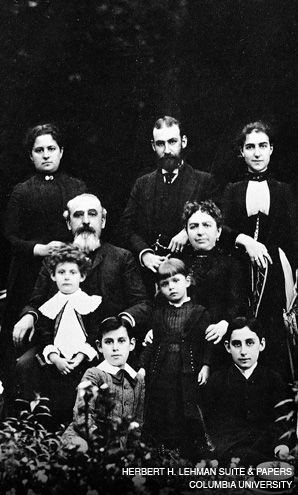 FAMILY FIRM: Mayer Lehman (seated, with beard) and his descendants became one of America?s most prominent German Jewish families, but few are associated anymore with the failed financial giant.