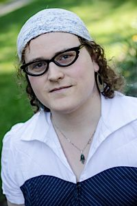 Cushion: During her gender transition, Leiah Moser found support from her rabbinical school classmates.