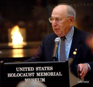 Mr. Chairman: Miles Lerman was central in the creation of the Holocaust museum.