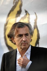 Engagé: Prominent French philosopher Bernard-Henri Levy is one of 4,000 signatories to JCall?s petition calling on European governments to pressure Israel on settlements